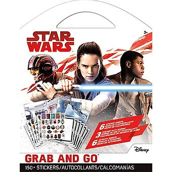 Grab and Go Stickers - Star Wars 8 Nouveau st9144