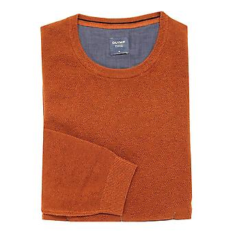 OLYMP Olymp Grey Or Rust Sweater 5311