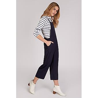 Joy Davis Pinafore Jumpsuit Marine