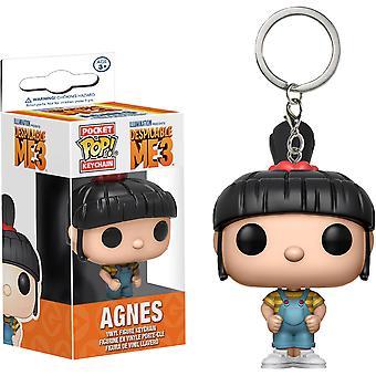Despicable Me 3 Agnes Pocket Pop! Llavero
