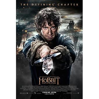 The Hobbit The Battle Of The Five Armies Original Movie Poster - Double Sided Regular