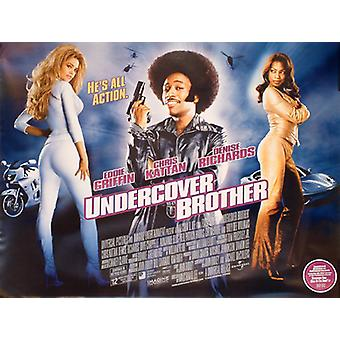 Undercover Brother (Double Sided) Original Cinema Poster