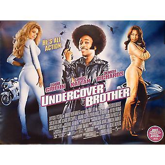 Undercover irmão (dupla face) original cinema poster