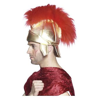 Mens Roman Soldiers Helmet  Fancy Dress Accessory