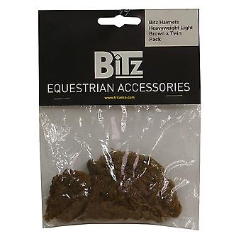 Bitz Heavyweight Hairnets (Pack Of 2)