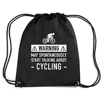 Black backpack dec0060 funny bicycle gift ideas