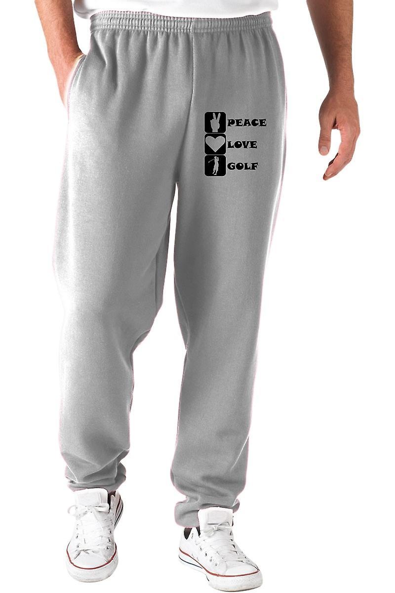 Pantaloni tuta grigio wtc1437 peace love golf
