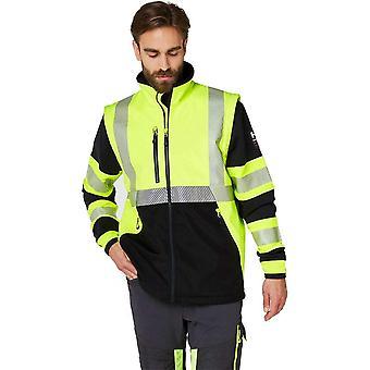 Helly hansen icu en471 hi vis softshell jacket 74272