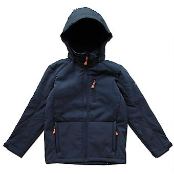 McKinley Lulu Boys Hooded Softshell Navy