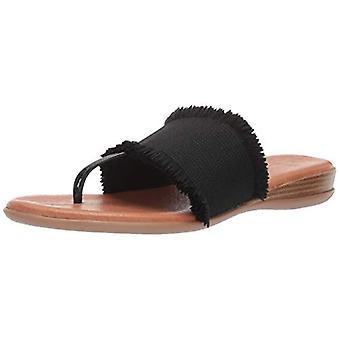Andre Assous Women's Nanette Flip-Flop, Black, 6 M US