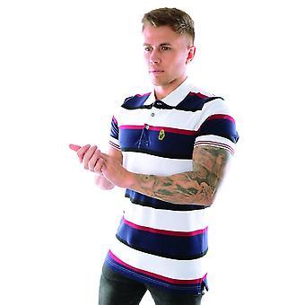 Luke - France Stripe New Mead M501450 Polo T-shirt - Multi Colour