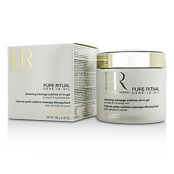 Pure rituele verzorging in oliereinigende massage sublieme olie in gel 191351 200ml/6.49oz