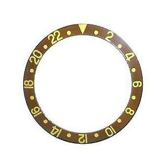 Bezel insert made by w&cp to fit rolex 315-16718-3 generic bezel insert