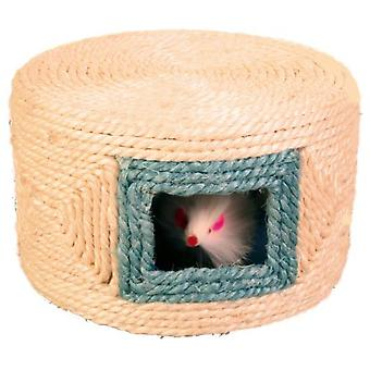 Trixie Sisal Rope Drum, With 3 Mice (Cats , Toys , Mice)
