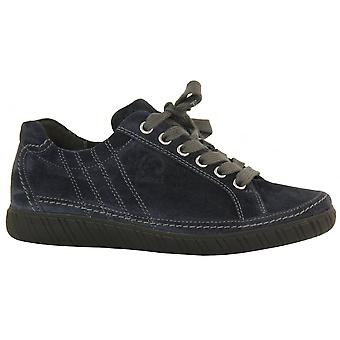 Gabor Amulet Lace Up Leather Trainer