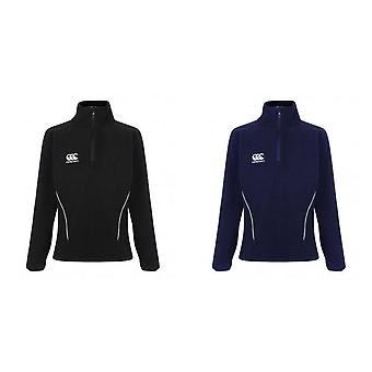 Canterbury Womens/Ladies Team Zip Neck Micro Fleece