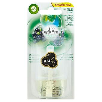 3 x Air Wick Life Scents Air Freshener Electrical Plug In, Forest Waters, Refill