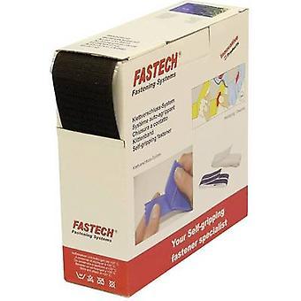 FASTECH® B50-SKL01999910 Krok-og-sløyfe tape stick-on (smeltelim) Sløyfepute (L x W) 10000 mm x 50 mm Svart 10 m
