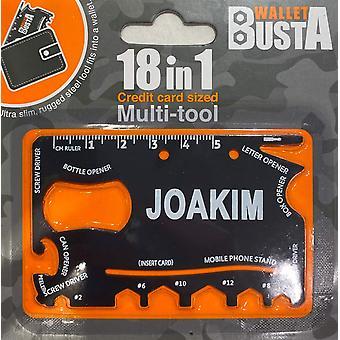 Multitool Multitool Joakim Kreditná karta debetná karta