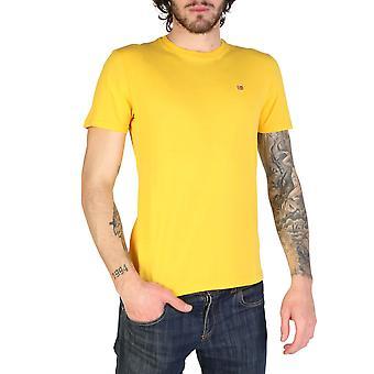 Napapijri Original Men Spring/Summer T-Shirt - Yellow Color 34212