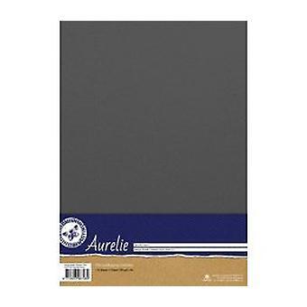 Aurelie Vintage Metallic Cardstock Steel (AUSP1022)