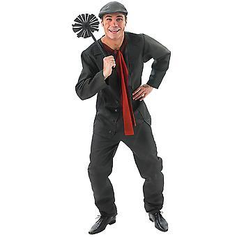 Mary Poppins Mens Bert Chimney Sweep Costume