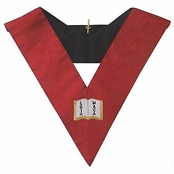 Kołnierz aasr masońskie 18 stopnia - rycerz róża croix- orator