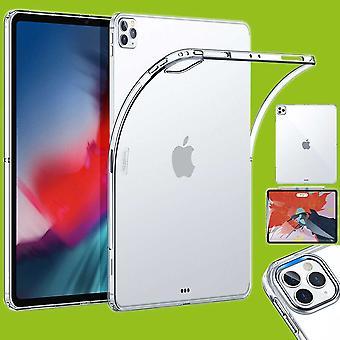 Para Apple iPad Pro 11.0 2020 caja de la tableta transparente caso TPU silicona delgada