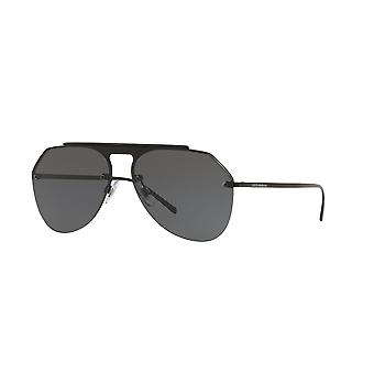 Dolce&Gabbana DG2213 110687 Matte Black/Grey Glasses