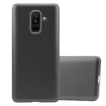 Cadorabo Hülle für Samsung Galaxy A6 PLUS 2018 hülle case cover - Handyhülle aus flexiblem TPU Silikon – Silikonhülle Schutzhülle Ultra Slim Soft Back Cover Case Bumper