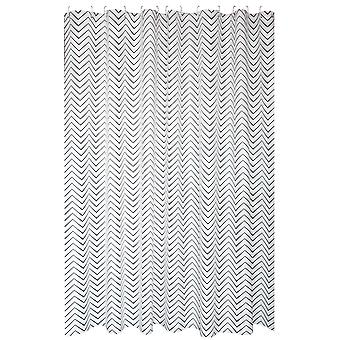 Water ripple shower curtain 200x200cm