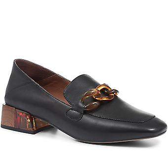 Staccato Womens Lucille Leather Ladies Loafers
