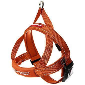Ezydog Harnais Quick Fit Orange Fluo (Chiens , Colliers, laisses et harnais , Harnais)