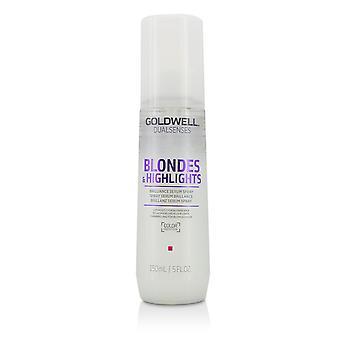 Podwójne zmysły blondynki i podkreśla brilliance serum spray (jasność dla włosów blond) 150ml/ 5uncja