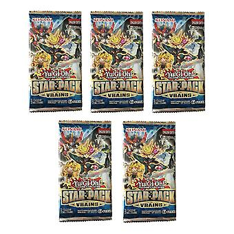 Yu-Gi-Oh! TCG Star Pack Vrains Boosters 3-Pack