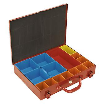 Sealey Apmc15 Metal Case With 15 Storage Bins