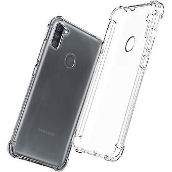 Soft mobile shell Samsung Galaxy A11 - Transparent