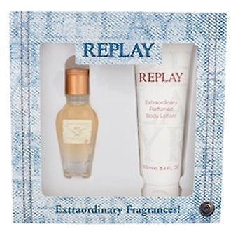 Replay - Jeans Original pour son coffret cadeau 20 ml et lotion pour le corps Jeans Original pour ses 100 ml - 20ML