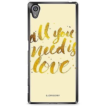 Bjornberry Peel Sony Xperia Z5 - Kaikki mitä tarvitset on rakkaus