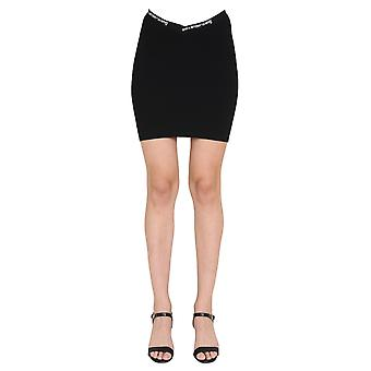 Alexander Wang.t 4kc2205040001 Women's Black Viscose Skirt