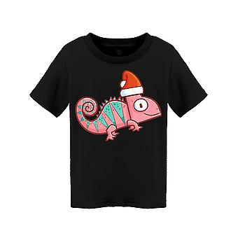 Funny And Cute Pink Chameleon Tee Toddler's -Image by Shutterstock
