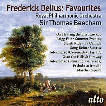 Beecham, Sir Thomas / Royal Philharmonic Orchestra - Frederick Delius: 11 Favorieten [CD] USA import