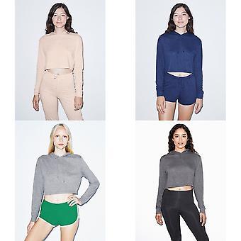 American Apparel Womens/Ladies Cropped Hoodie