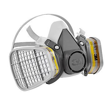 3M μισός αναπνευστήρας facepiece μάσκας νέο πρότυπο με τα φίλτρα 2x 6057