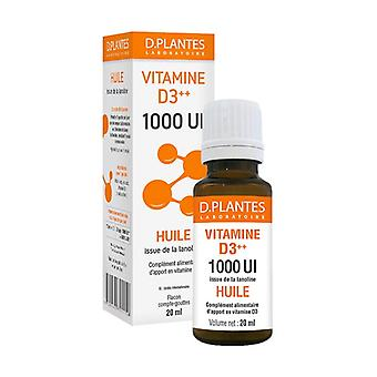 Vitamin D3 ++ 1000 IU Oil 20 ml