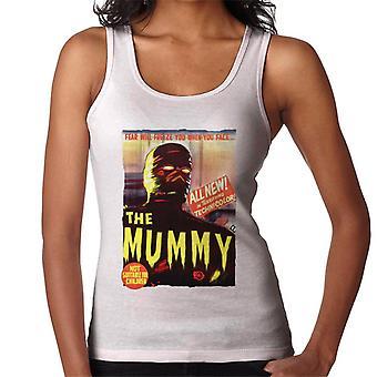 Hammer Horror films Mummy Movie Poster vrouwen ' s vest