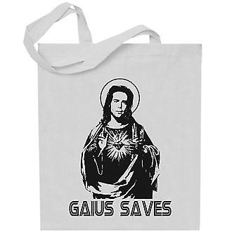 Gaius salva Battlestar Galactica Totebag