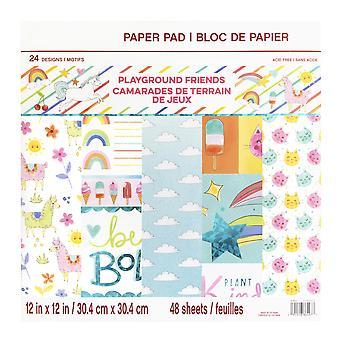 Craft Smith Playground Friends 12x12 Inch Paper Pads