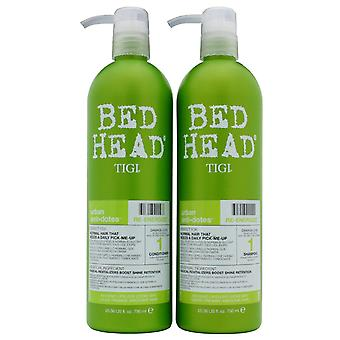 Tigi Duo Pack Bed Head Urban modgift Re-Energize 750ml Shampoo + 750ml Balsam