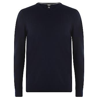 Callaway Mens V Neck Sweatshirt V-Neck Long Sleeve Lightweight Jumper Top